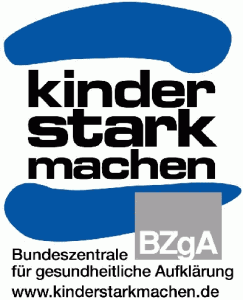 Logo Kinder stark machen - Eine Initiative von der BZgA