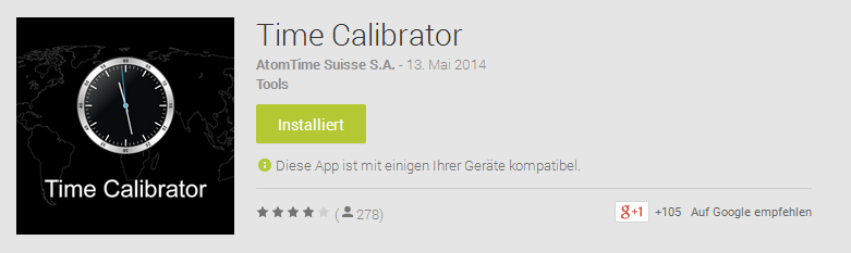 Time Calibrator