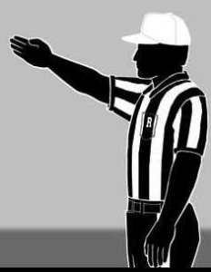 Referee Signal 8